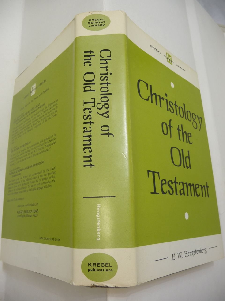 Read Online Christology of the Old Testament and A Commentary on the Messianic Predictions (Kregel Reprint Library) pdf