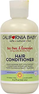 product image for California Baby Tea Tree and Lavender Hair Conditioner (8.5 ounces) | Deep Conditioning and Soft Detangling Hair Care for Infants, Newborns and Toddlers | Leave In and Rinse Out