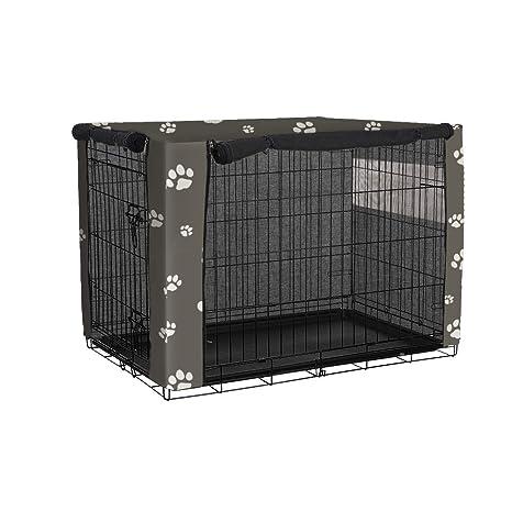 QEES cobertores para jaulas de Perro, a Prueba de Viento, para ...