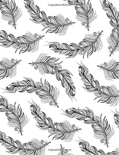 Feather Notebook: Sketching Bird Journal Book Ruled Lined Page Paper For Kids Teen Girl Boy Women Lady Men Writer Great For Writing Cute Diary School ... Book (Large, 8.5 x 11 Inches) (Volume 12) pdf epub