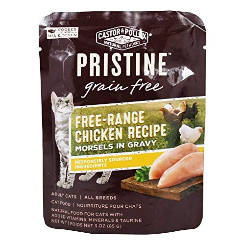 Castor Pollux Cat Food Can Gluten Free Chicken Mo, 3 oz