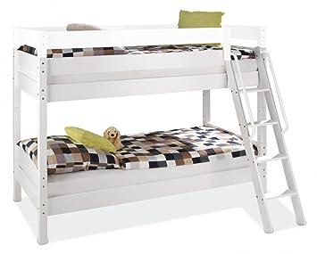 Etagenbett Holz Massiv : Kinderbett hochbett weiß u luxus holz massiv