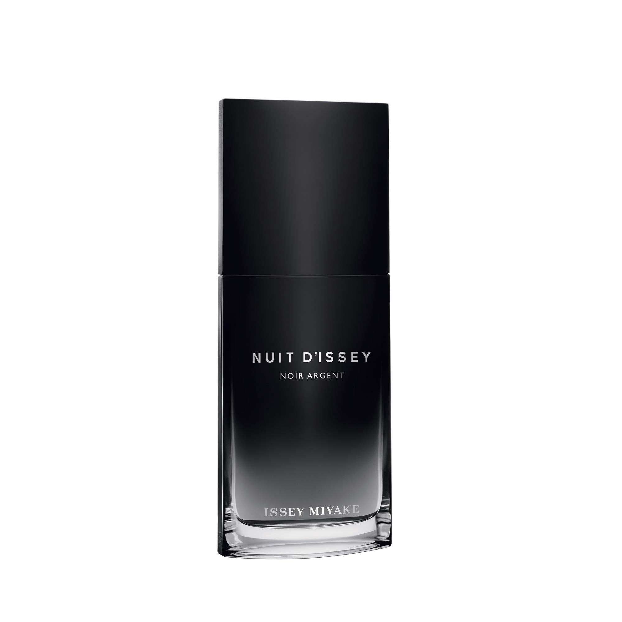 Issey Miyake Nuit D'issey Noir Argent By Issey Miyake for Men 3.3 Oz Eau De Parfum Spray, 1 Oz