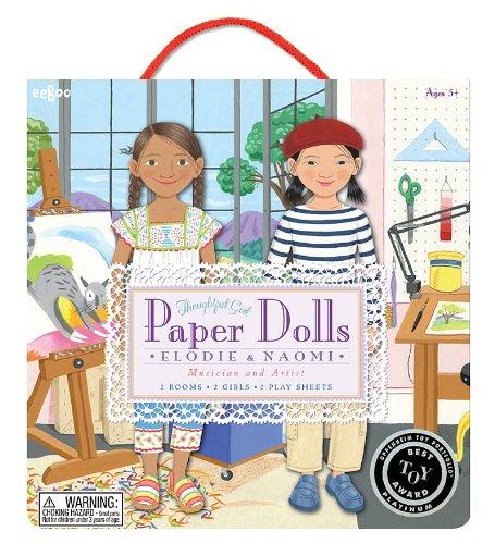 eeBoo Musician and Artist Paper Dolls (Eeboo Paper Dolls)