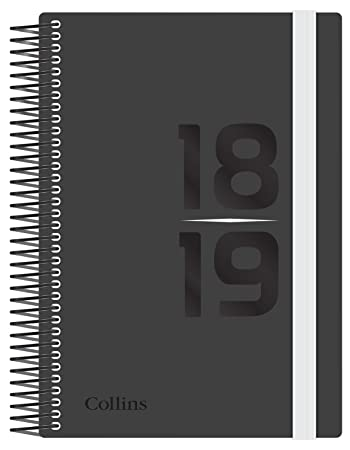 7a5517655e25 Collins FP53M-Whit A5 Delta Mid-Year 2018 19 Week To View Diary ...