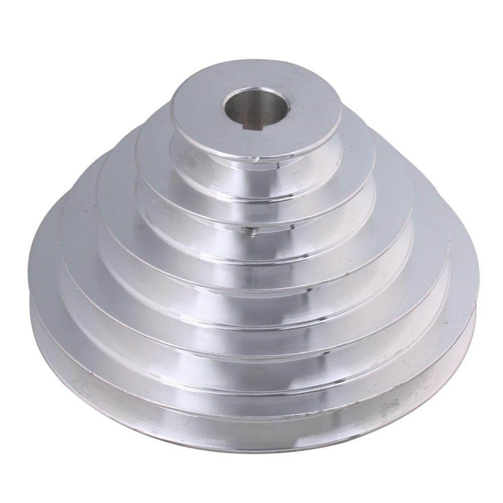 Mxfans 20mm Bore Outter Dia 54-150mm 5 Step A Type V-Belt Pagoda Pulley Belt blhlltd