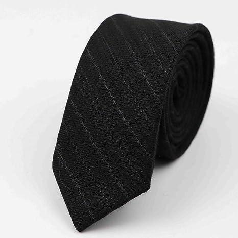 COLILI Corbata Comercial Color Clásico Corbata Gris Negro Corbatas ...