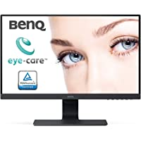 BenQ 23.8 Inch FHD 1080p Eye-Care LED Monitor (GW2480), 1920x1080 Display, IPS ,Brightness Intelligence, Low Blue Light, Flicker-free, Ultra Slim Bezel, Cable Management System, HDMI