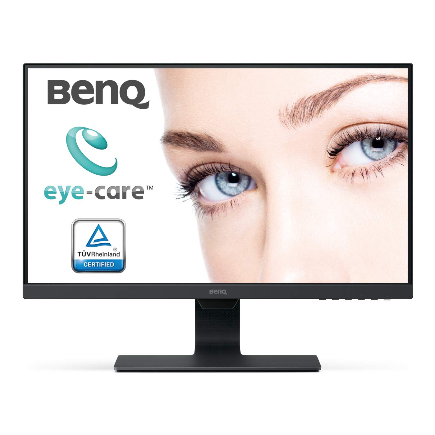 BenQ GW2480 - Monitor de 23.8' FHD (Pantalla de 1920 x 1080, Eye-Care, IPS, HDMI, Brillo Inteligente, Low Blue Light, Bisel superestrecho) Color Negro BenQ GW2480 - Monitor de 23.8 FHD (Pantalla de 1920 x 1080