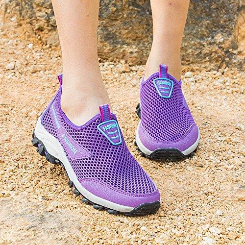 Femeninos Hasag Zapatos Fondo Zapatos Tela Suave Basket Transpirable violet de de Deportivos Zapatos Netos Nueva Madre Zapatos Antideslizantes Primavera grBqIOrz
