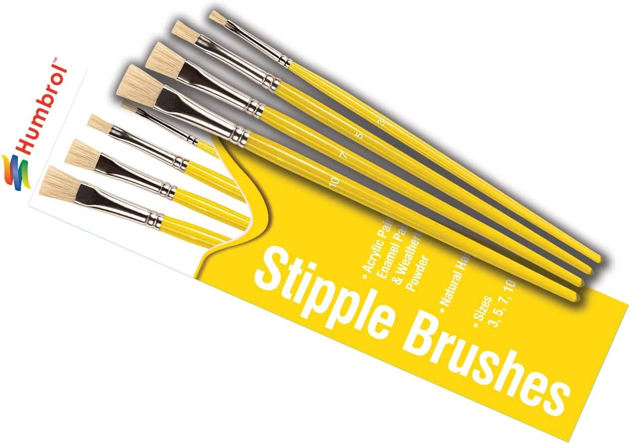 Humbrol AG4306 Brush Pack Various