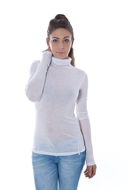 Phard P1118040550400 PAVA Jersey de Cuello Alto Mujer: Amazon.es: Ropa y accesorios