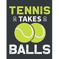 Tennis Scorebook: Funny Tennis Score Book, Tennis Score Sheet, Tennis Score Keeper Book Gag Gift For Adults, Students…