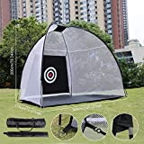 BLACK FRIDAY DEAL! Dtemple Portable Golf Net Pop Up Hitting Nets With Chipping Target - Golf Training Net With Carrying Bug (US Stock)