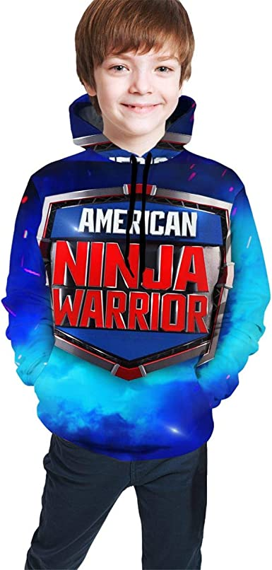 Amazon.com: Unisex Children Youth American Ninja Warrior ...