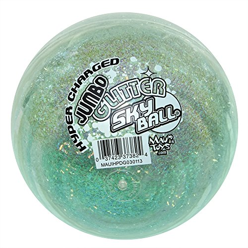 Maui Toys Jumbo Glitter Sky Ball, 120mm, Assorted (Toy Glitter)