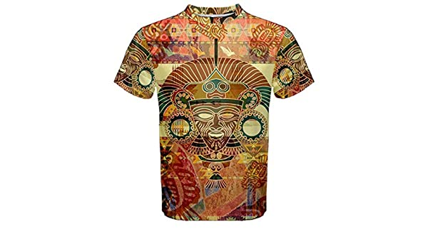 28cc2203 Amazon.com : Aztec Ancient Code Trippy Hippie Psychedelic Full 3D  Sublimation Men T-Shirt Full 3D Custom Print T shirt Tees #003 : Sports &  Outdoors