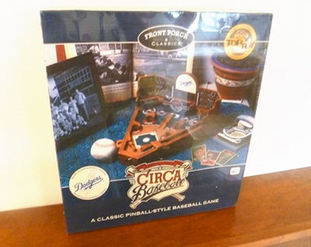 Front Porch Classics Mini Pinball Baseball - Los Angeles Dodgers