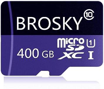 Amazon.com: Tarjeta Micro SD SDXC de 256 GB, BROSKY Clase 10 ...