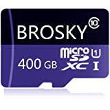 Tarjeta Micro SD Tarjeta de Memoria de Clase 10 de Alta Velocidad de 128 GB / 256 GB / 400 GB con Adaptador