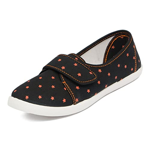 68a02c1518911d Asian shoes LR-81 Black Canvas Ladies Shoes 9 UK Indian  Buy Online at Low  Prices in India - Amazon.in