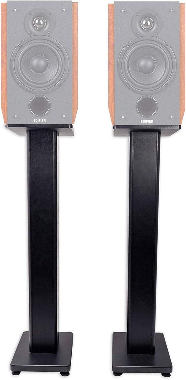Pair 28 Bookshelf Speaker Stands for Edifier R2000DB Bookshelf Speakers