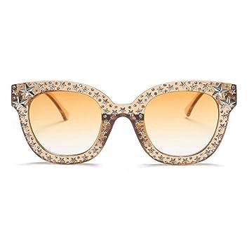 Yukun Gafas de sol Gafas de Sol de Fondo Negro Retro Espejo ...