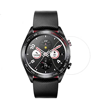 ... arañazos Anti Huella Digital y Aceite Mancha no Burbujas Ver película de Cristal Templado Protector para Huawei Honor Watch Magic: Amazon.es: Relojes