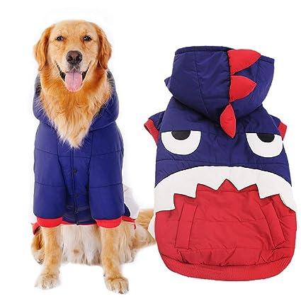 Ropa para perros Los perros grandes y tiburones se visten Ropa de dos patas Mascotas Ropa