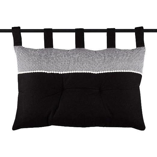 Zen - Cojín para reposacabezas (45 x 70 cm), Color Negro ...