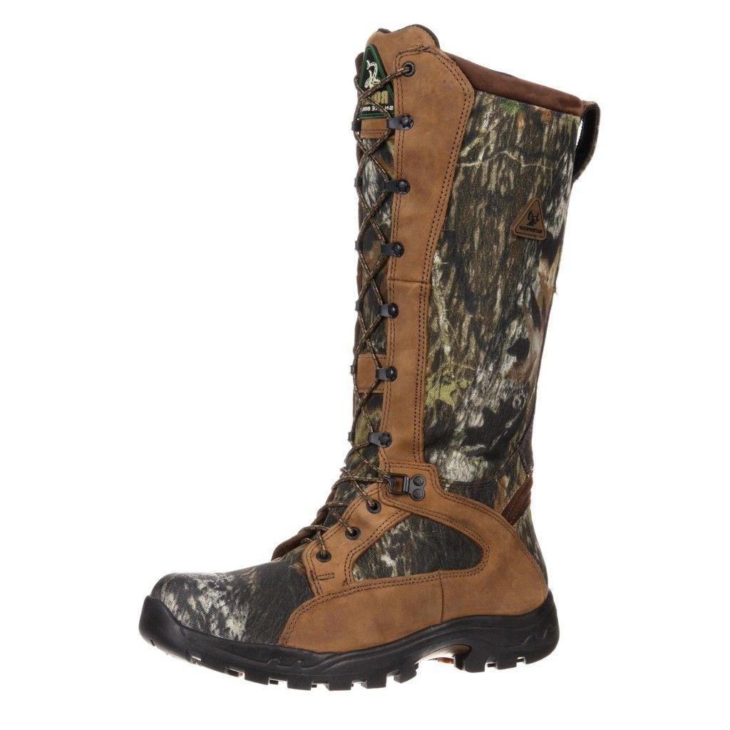 Rocky Men's 16'' Prolight Waterproof Snake Boots, Mossy Oak Break-Up, 8.5D (Medium)
