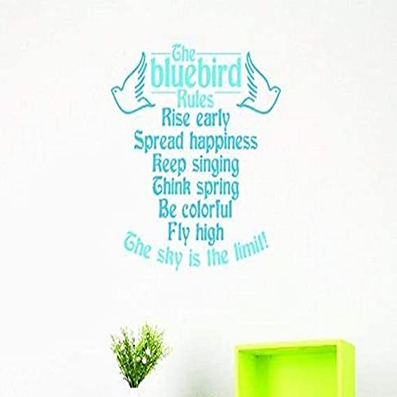 Think Spring Hd092ET Wall Quotes Vinyl Sticker Vinyl Wall Decal