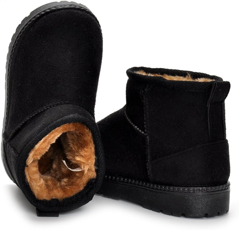 Matt Keely B/éb/é Hiver Chaussures Bambin Gar/çon Fille Bottes de Neige