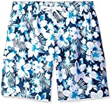 Kanu Surf Men's Big Dominica Extended Size Quick Dry Beach Shorts Swim Trunk, Navy, 3X