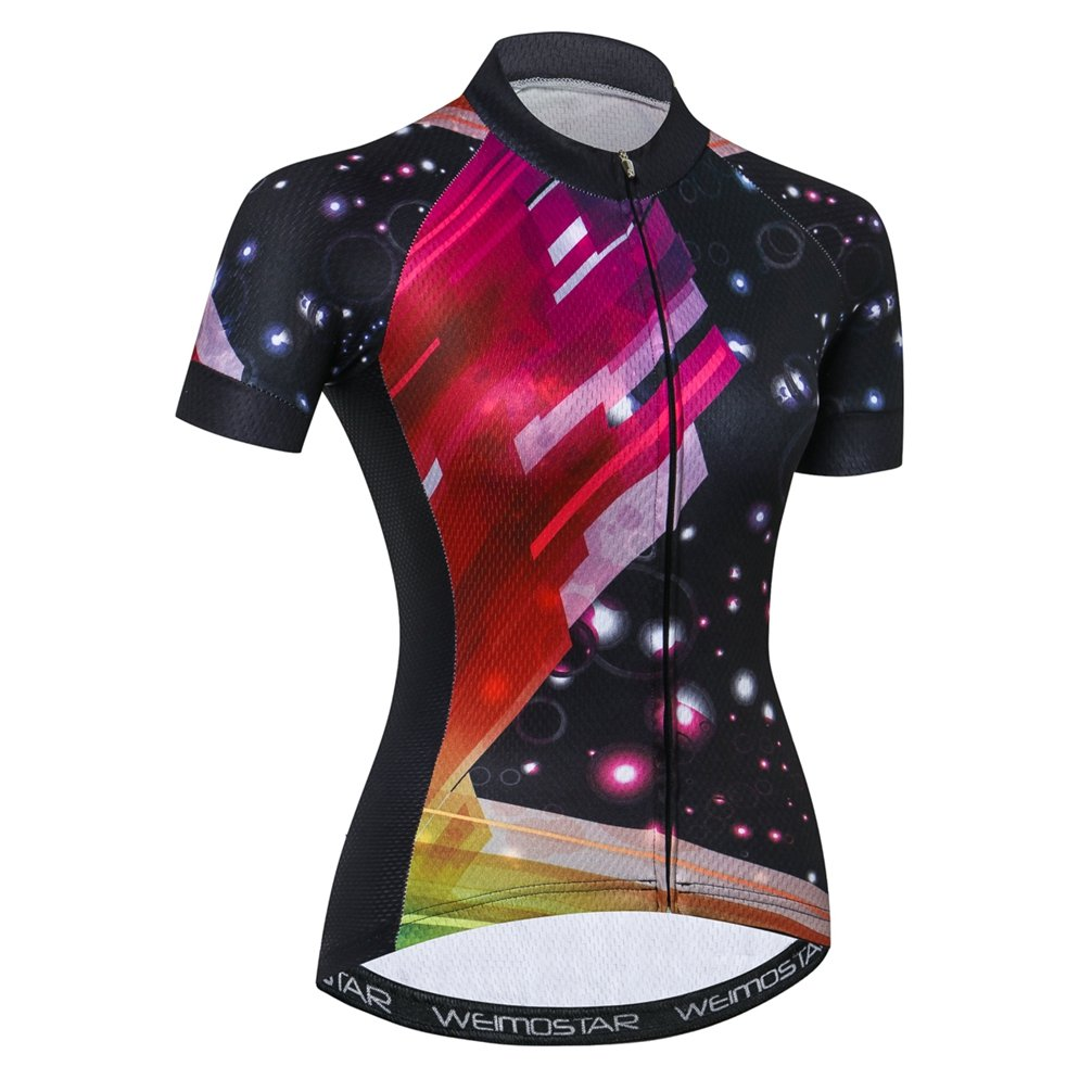 Weimostar Women's Cycling Jersey, Bike Jersey Tops Breathable Bicycle Quick Dry Clothing Shirt jinjin sports