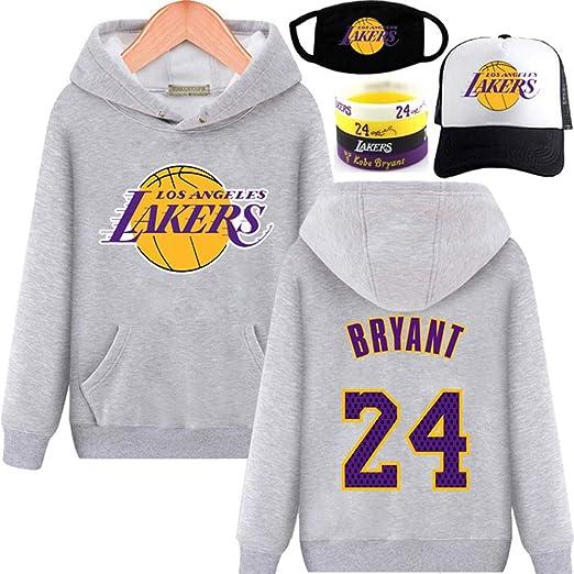 AIALTS Lakers 23 James Baloncesto con Capucha De Deporte, Otoño E ...