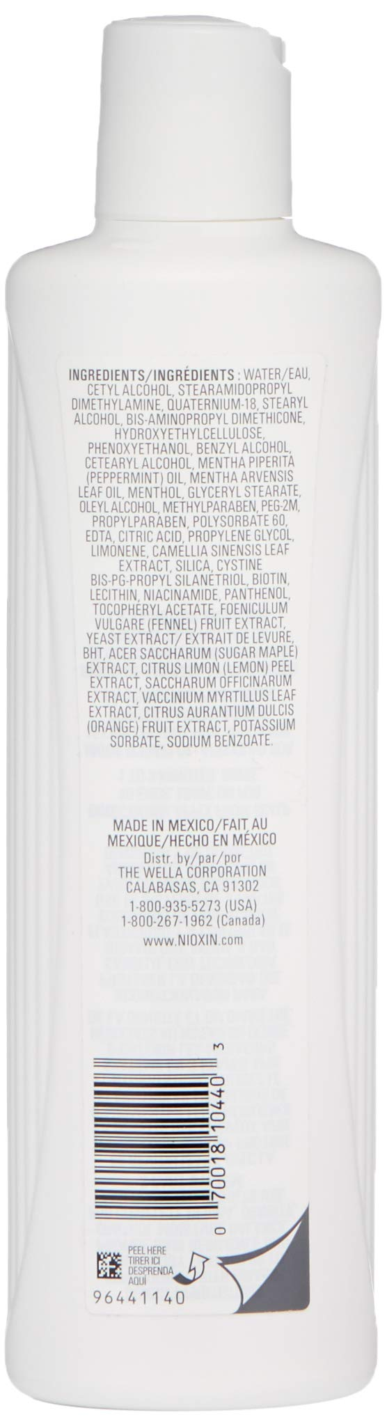 Nioxin System 3 Scalp Therapy Conditioner, 10.1 oz. by Nioxin (Image #2)
