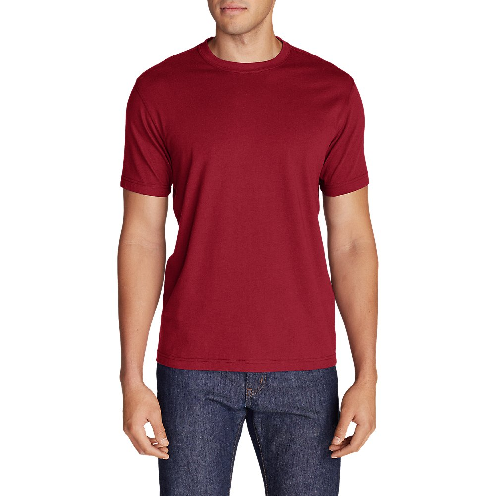 Eddie Bauer Men's Legend Wash Short-Sleeve T-Shirt - Classic Fit 43498