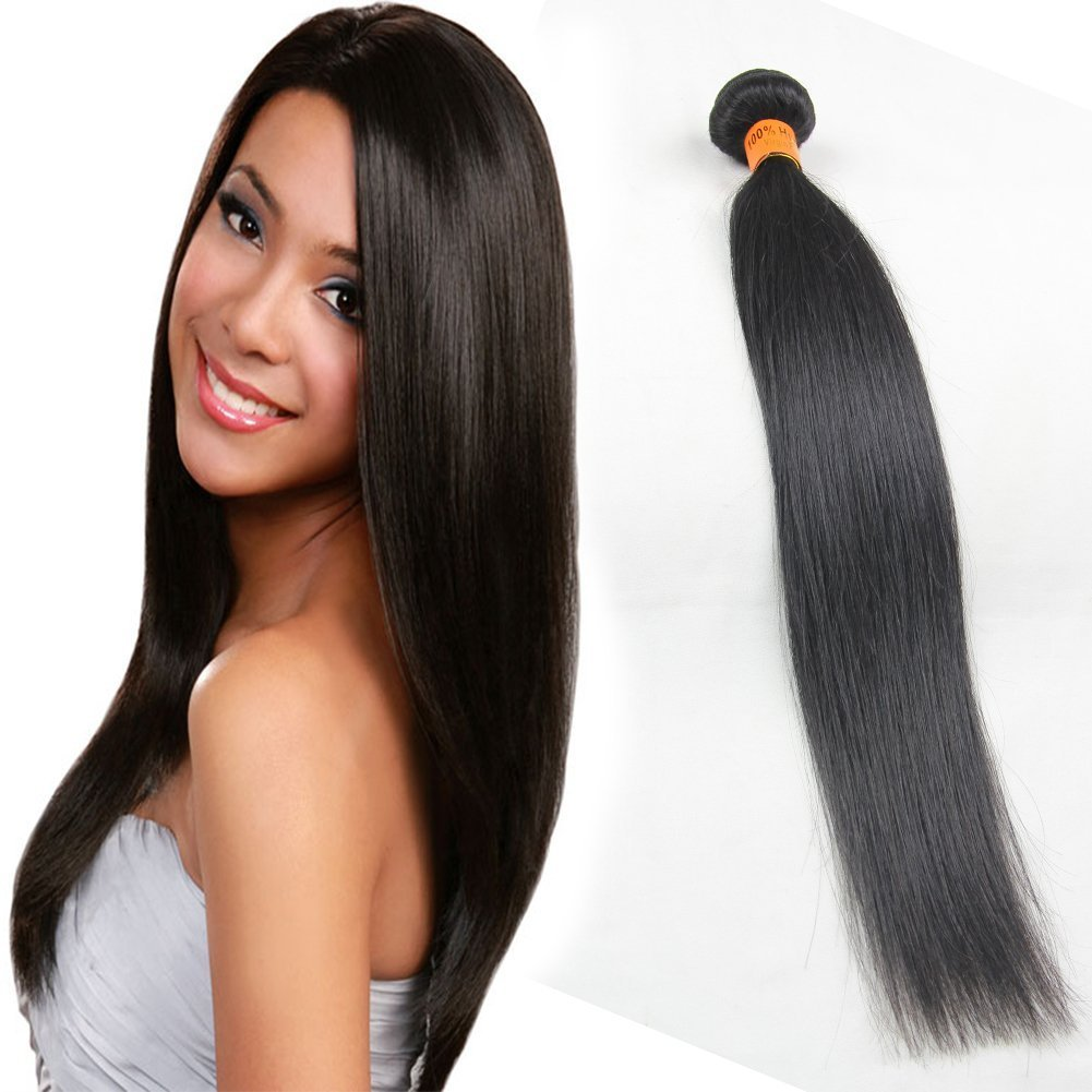 Amazon 100 virgin brazilian remy human hair extensions amazon 100 virgin brazilian remy human hair extensions weave hair 14 straight beauty pmusecretfo Choice Image