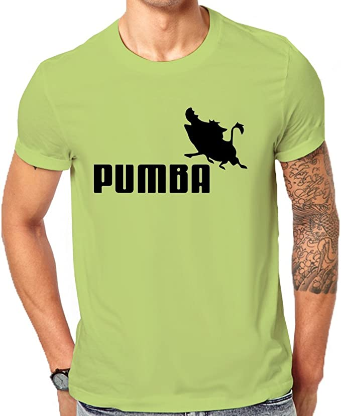 Pumba Puma Men's Classic T Shirt Large: : Vêtements