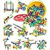 250-Pieces-STEM-Building-Blocks-Pipe-Tube-Sensory-Toys-Creative-Tube-Locks-Construction-Set-with-Wheels-Storage-Box-Interlocking-Preschool-Educational-Learning-Toys-Present-Gift-for-Boys-Girls-3