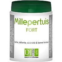 Millepertuis Fort - Extrait titré à 0,3% d'hypéricine - Stress, Anxiété - Détente - 180 gélules - Fabriqué en France