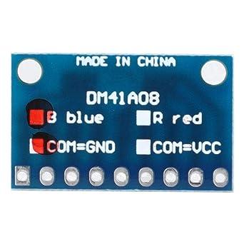 Módulo LED de 4 Piezas, Kit de Placa de Prueba de Cátodo Común ...