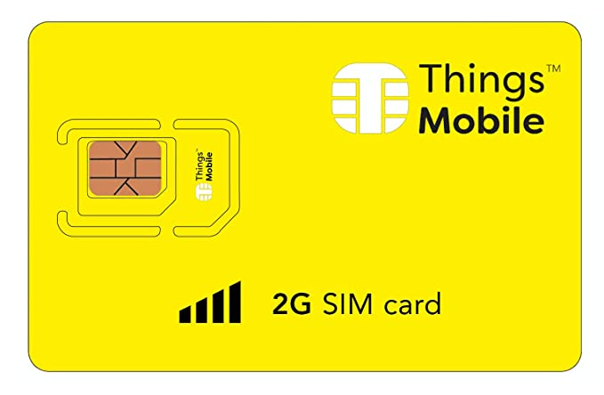 Amazon.com: Tarjeta SIM 2G - Things Mobile - Con cobertura ...