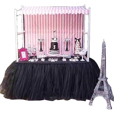 Faldones de tutú románticos para decoración de mesa, para ...