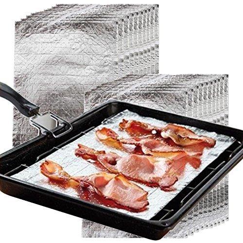Das Fett-Controller Grillpfanne & Ofen Schutz Fett Absorbierend Tablett Kissen (Vpe 20, 35cm x 20cm)