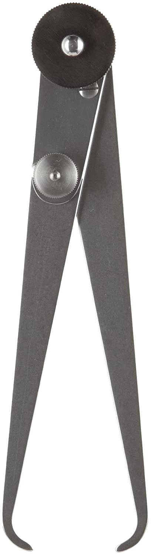 Steel Starrett 37-6 Inside Joint Caliper Flat Leg 0-6 Range