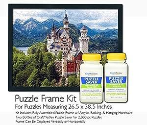 Amazon Com Jigsaw Puzzle Frame Kit For 26 5x38 5 Inch