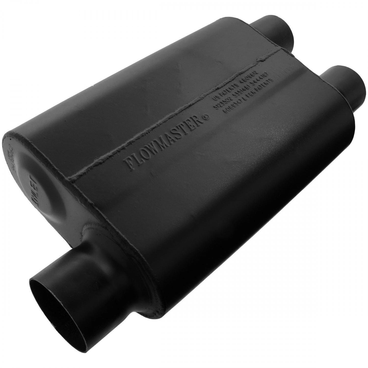 Aggressive Sound Flowmaster 9430462 Super 44 Muffler 3.00 Offset IN 2.50 Dual OUT
