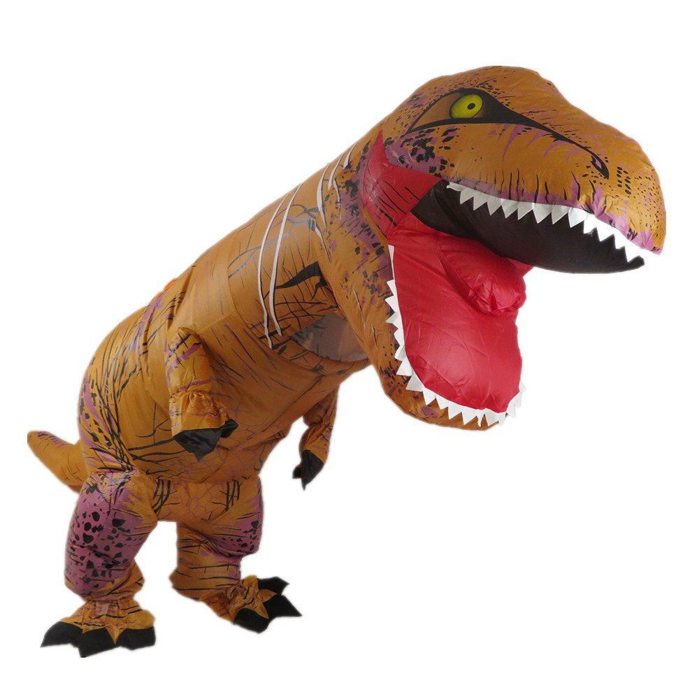 Yuanyistyle Inflatable Trex Costume Adult Size Tall